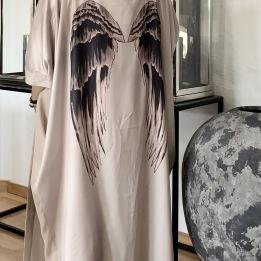 A COSTA MANI Recycle chic kimono