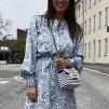 A KARMAMIA Evie Dress - Sky Silhouette