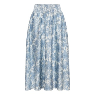 A KARMAMIA Trini Skirt - Malibu Light
