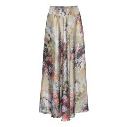A KARMAMIA Savannah Skirt - Fleur Gold