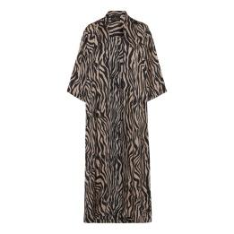 A KARMAMIA Nikki Kimono (long) - Zebra