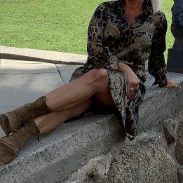 A KARMAMIA Nakita Dress - Leo Paisley