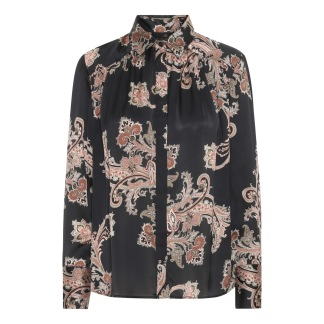 KARMAMIA Augusta Shirt - Pearson Paisley Blush