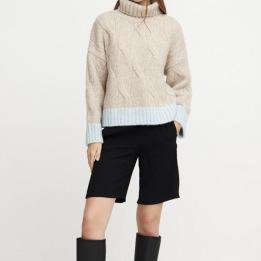 A-VIEW Viol knit BLUE