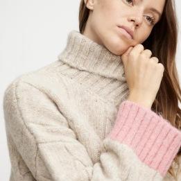 A-VIEW Viol knit PINK