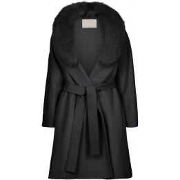 NATURES COLLECTION Valerie Jacket of Wool Blend/Fox
