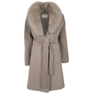 NATURES COLLECTION Valerie Jacket Taupe