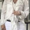 BRANTING Bella Short Soft Shiny - White