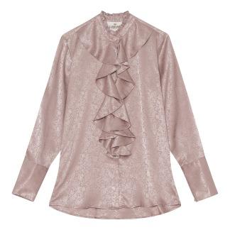 A KARMAMIA Stella Shirt – Primrose Jacquard