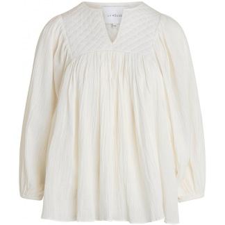 LA ROUGE Malle Blouse Off White