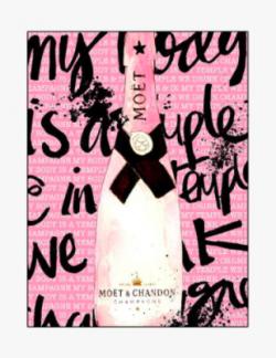 Mercedes Lopez Charro - Pink Moet Chandon