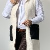 A COSTA MANI Teddy vest