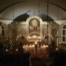 Lucia i kyrkan