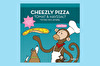 Cheezly Pizza Tomat & Havssalt Vegan