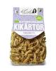 Ekologisk torchietti-pasta gjord på kikärtor.