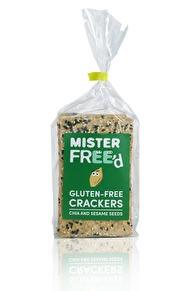 Glutenfria crackers Chia & Sesamfrön