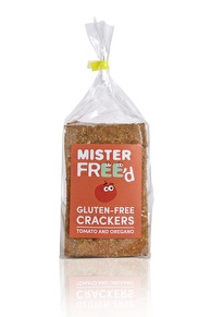 Glutenfria crackers  Tomat & Oregano