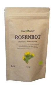 Ekologisk Rosenrotspulver 100g