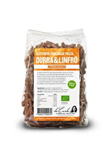EKO glutenfri maccheroni – durra & linfrön