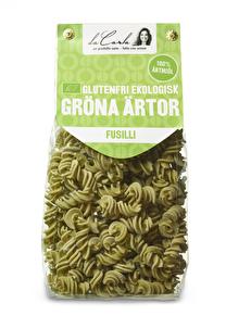Glutenfri EKO grönärtspasta – fusilli