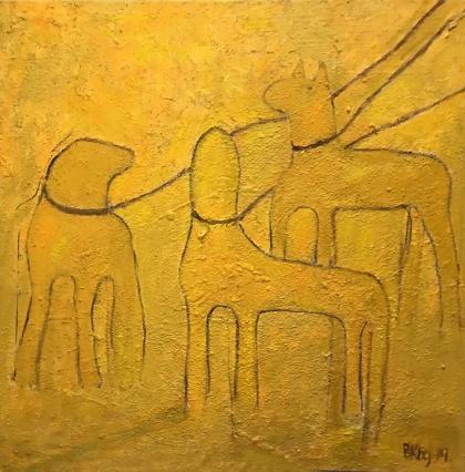 Någons hundar -- en parafras av Boel Kullenberg.