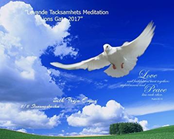 Levande Tacksamhets Meditation Lions Gate 2017 -
