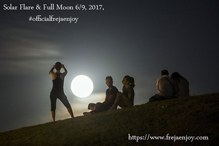 6/9 Solar Flare & Full Moon | FREJA ENJOY