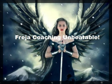 Angel steps Coaching with Freja - activation dec 2017 -