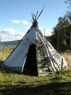 Lavvu, a classic sami tent