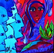 """Woman Is The Nigger Of The World"" from the title of the song by the Beatles member John Lennon - Artwork by Freja Enjoy"