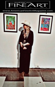 """My Religion Is Nature"" Art exhibition in Goa, India by Freja Enjoy"
