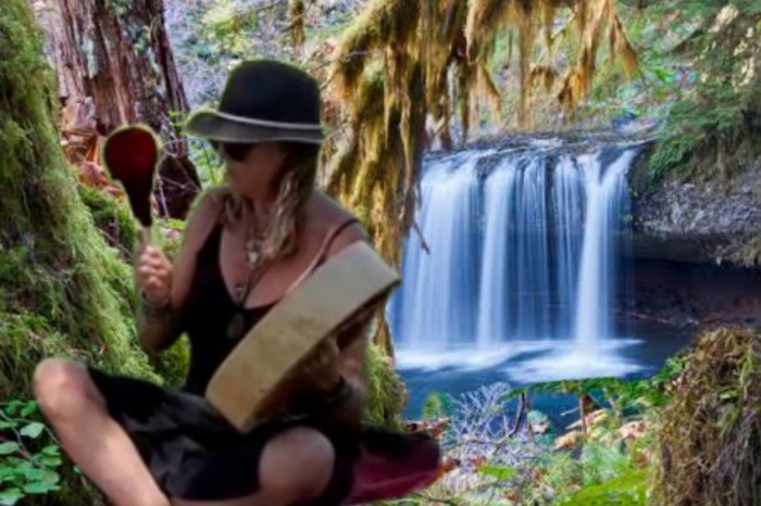 Freja Drumming Mother Earth Heart Beat