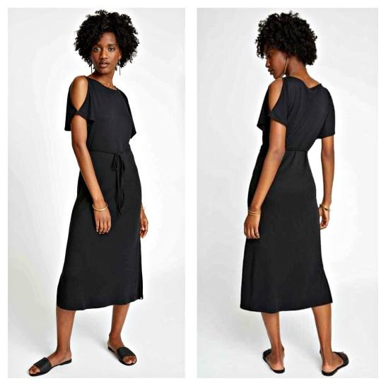 d1ad4d53fe15 Svart på sommaren kan vara så snyggt tycker jag! Den här jerseyklänningen  ger en elegant