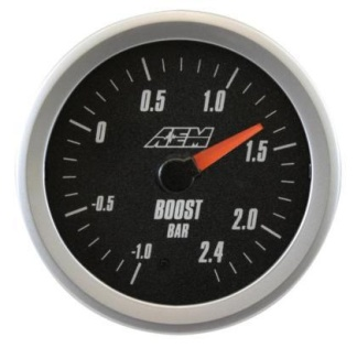 AEM Boost Gauge 2.4 Bar