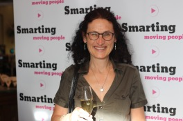 PR-konsulten Helen Crowe Blomgren var glad över att Smarting startat!