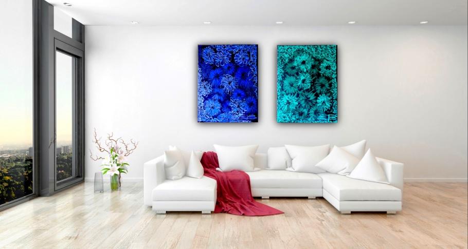 """""""Blue & Green Amazing visas på Strandvägen 7A"""""""