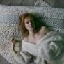 Anna Charlotte Atelier | Matta Resting in water – naturvit ull