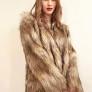 SKAU | Larnia golden-beige coat