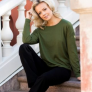 8DESIGN | Johanna jumper - Green