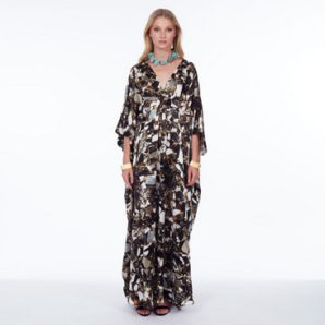 Märta Larsson | Cass Kaftan Long - Pyrite Crystal Long