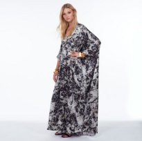 Cass Kaftan Dalmation Long.