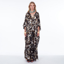 Cass Kaftan Pyrite Crystal Long.