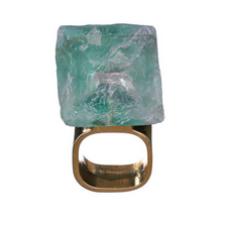 MÄRTA LARSSON | Roxx Green Fluorite Ring