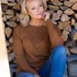 8DESIGN | Johanna jumper - Burnished brown