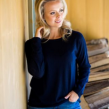 8DESIGN | Johanna jumper - Dark blue