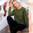 8DESIGN | Johanna jumper - Green