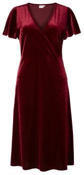 MILOOK | Sofia Velvet Dress - Red – S