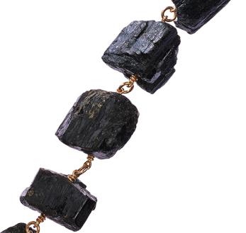 MÄRTA LARSSON | Not a Pearl Bracelet Black Tourmaline -