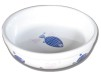 Matskålar - Matskål med blå fiskar och rosa hjärtan 0,3 l