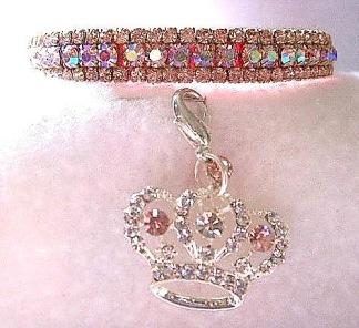 Katthalsband prissy rosa - Katthalsband Prissy rosa, Stl XS